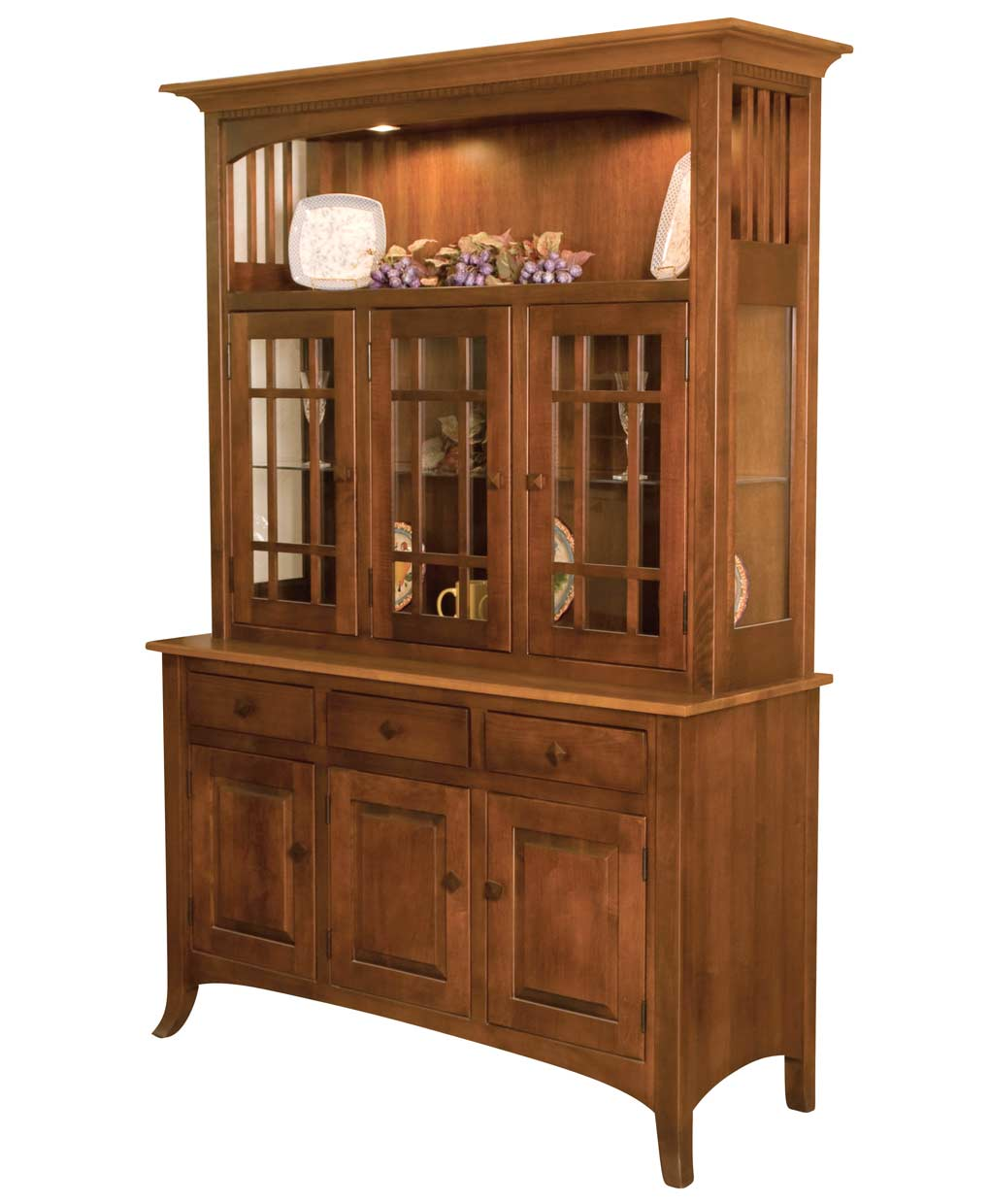 Newport Hutch Amish Direct Furniture
