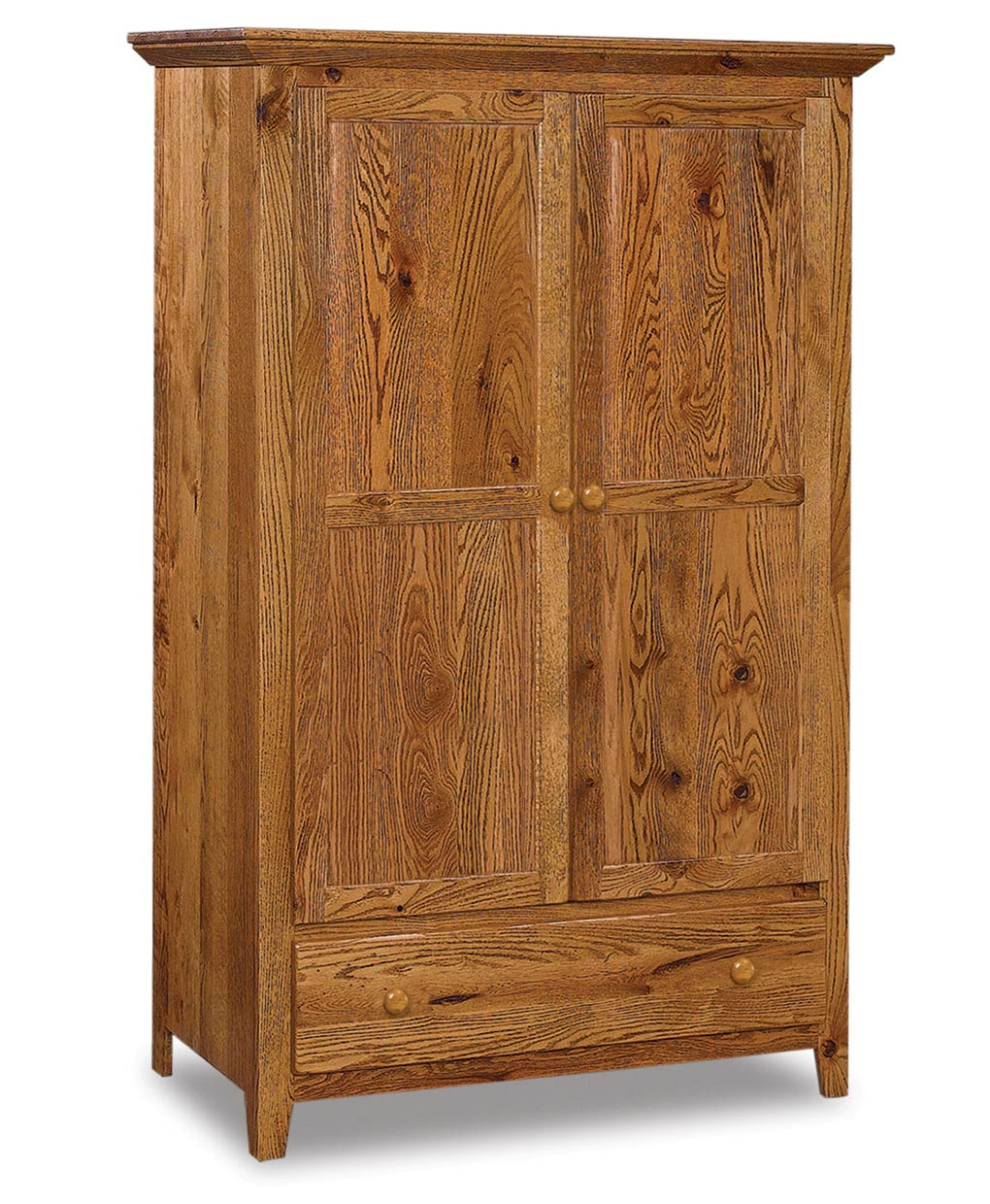 Shaker Wardrobe Armoire Amish Direct Furniture