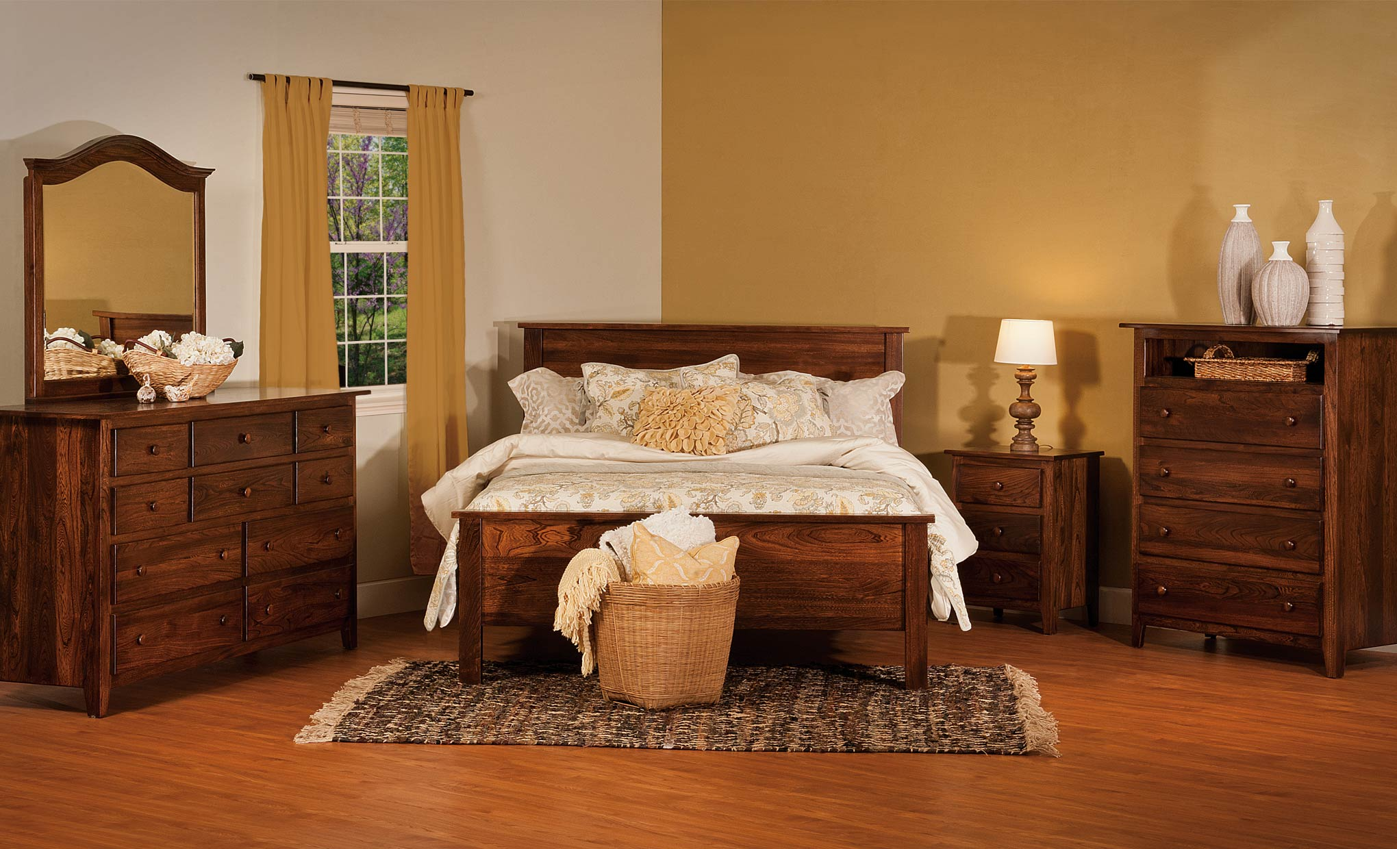 shaker bedroom home furniture traditional durham
