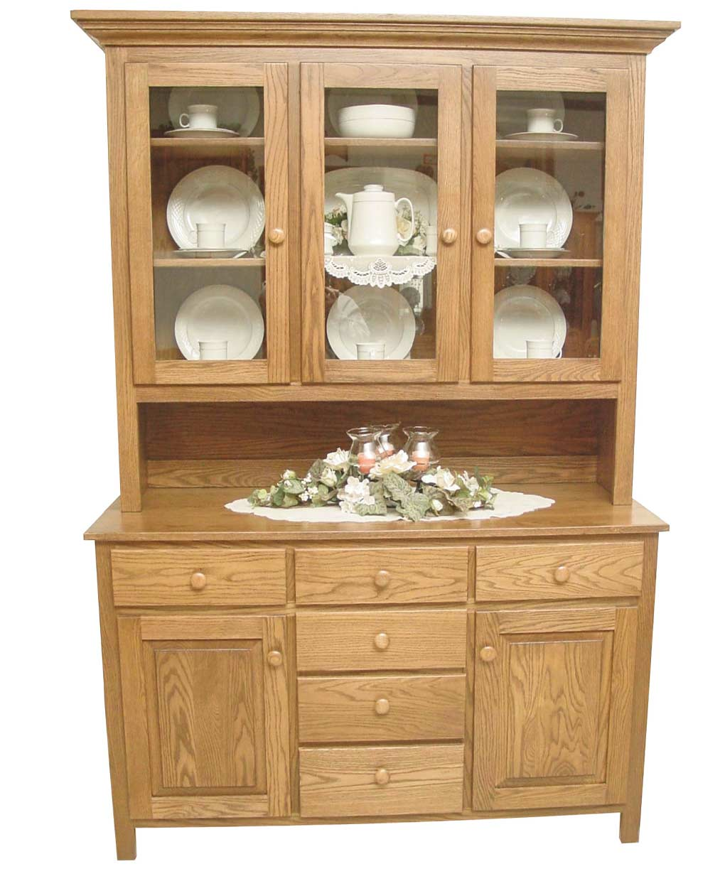 shaker hutch amish direct furniture. Black Bedroom Furniture Sets. Home Design Ideas
