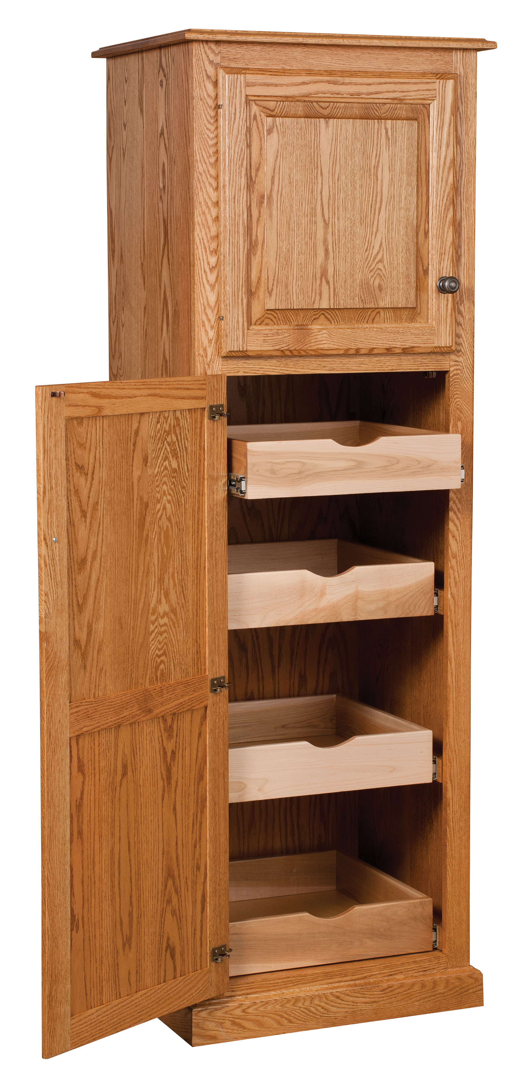 Traditional 2 Door Pantry Amish Direct Furniture