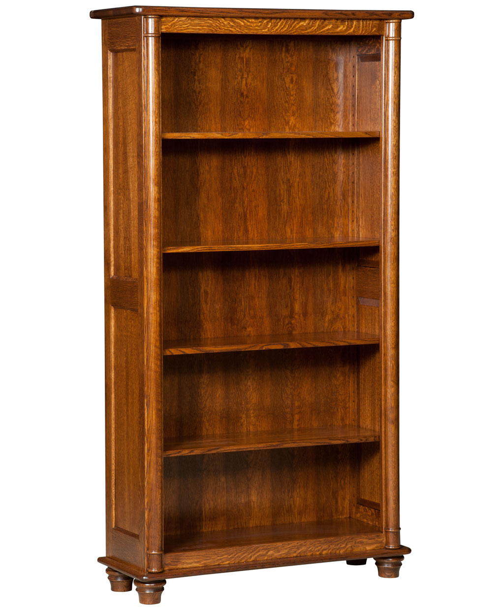 bookcase solid design wood furniture amish in of bookcases expensive ideas