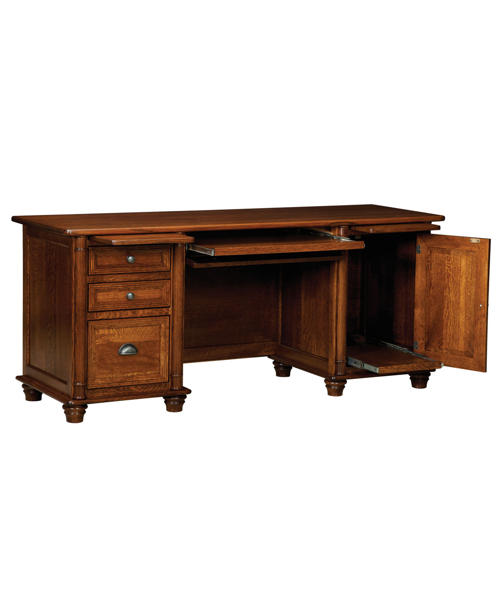 Belmont Credenza Desk Amish Direct Furniture