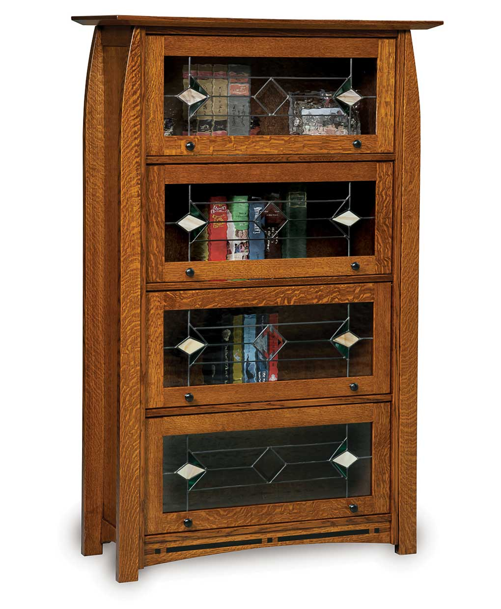 Boulder Creek Barrister Bookcase Amish Direct Furniture