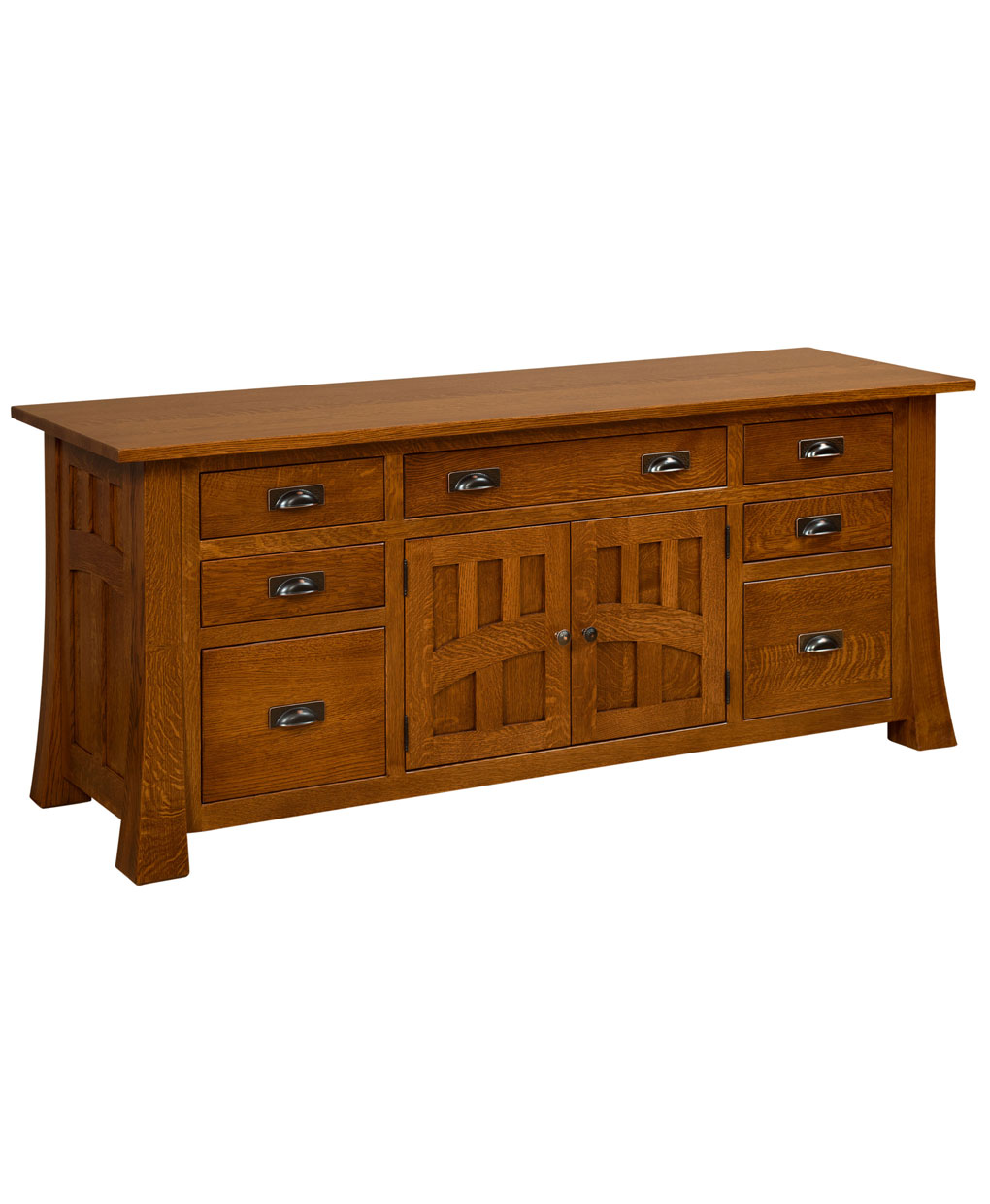Bridgefort Mission Credenza - Amish Direct Furniture