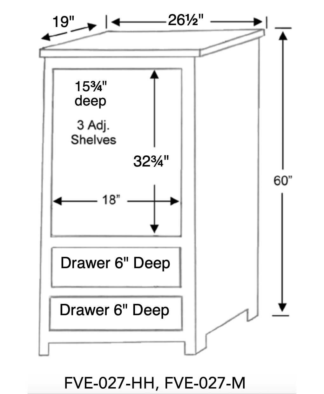 Dimensional Drawing [FVE-027-HH & FVE-027-M]