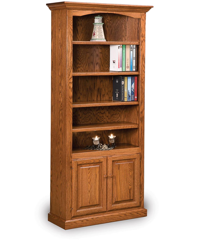 Hoosier Heritage Bookcase With Doors