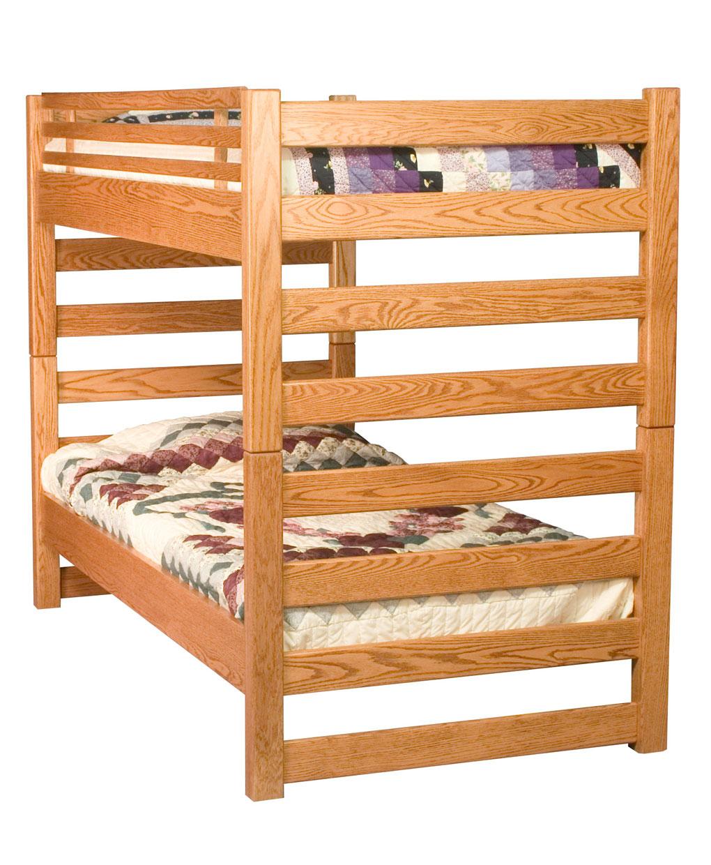 Ladder Bunk Bed Amish Direct Furniture