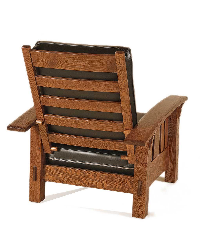 Genial McCoy Morris Chair [Back View]