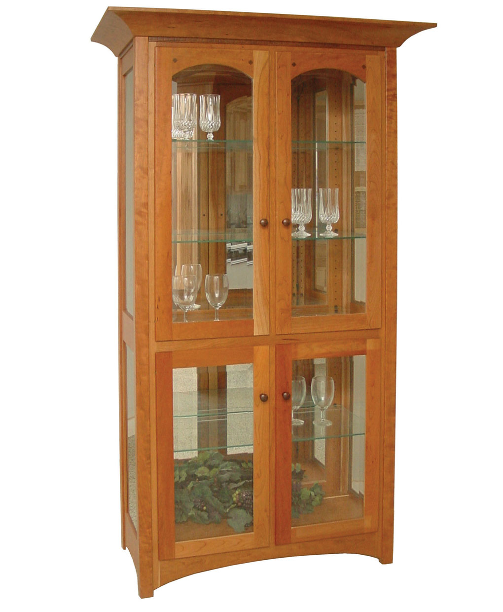 Royal Mission Curio Cabinet Amish Direct Furniture