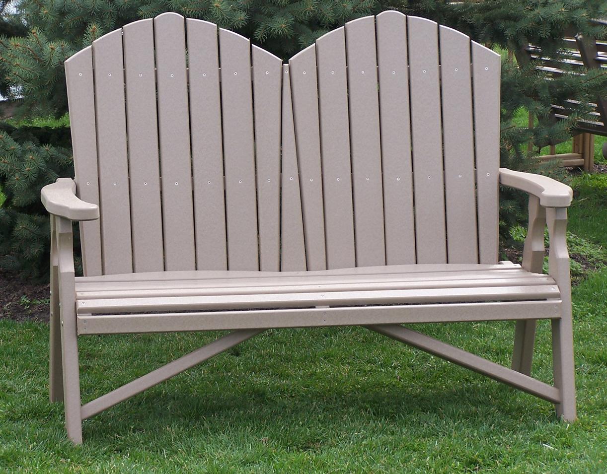 Poly Adirondack Loveseat Amish Direct Furniture