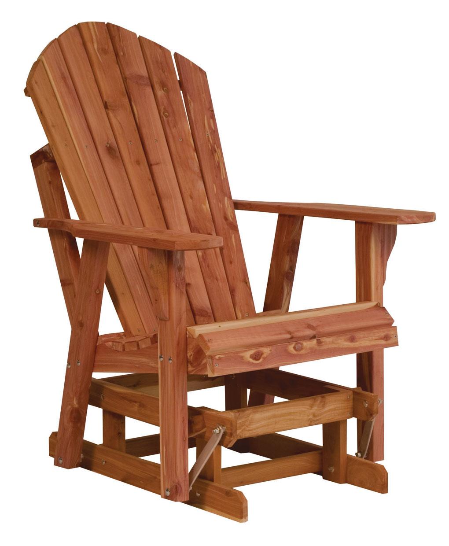 Adirondack glider amish direct furniture - Adirondack style bedroom furniture ...