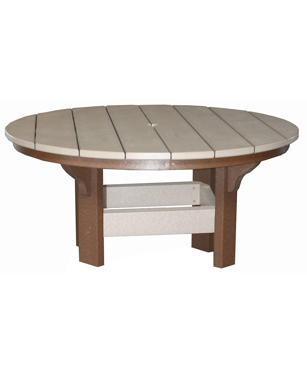 Poly Coffee Table With Optional Bowl