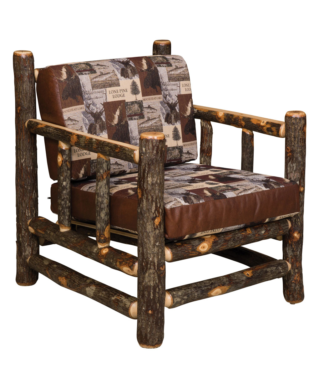 Hickory lodge chair amish direct furniture for Hickory chair bedroom furniture