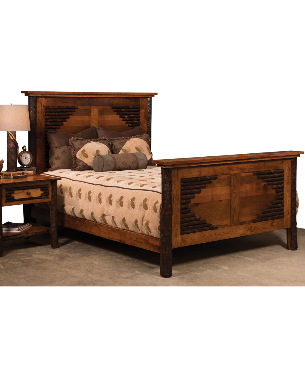 Wildwood Panel Bed Amish Direct Furniture