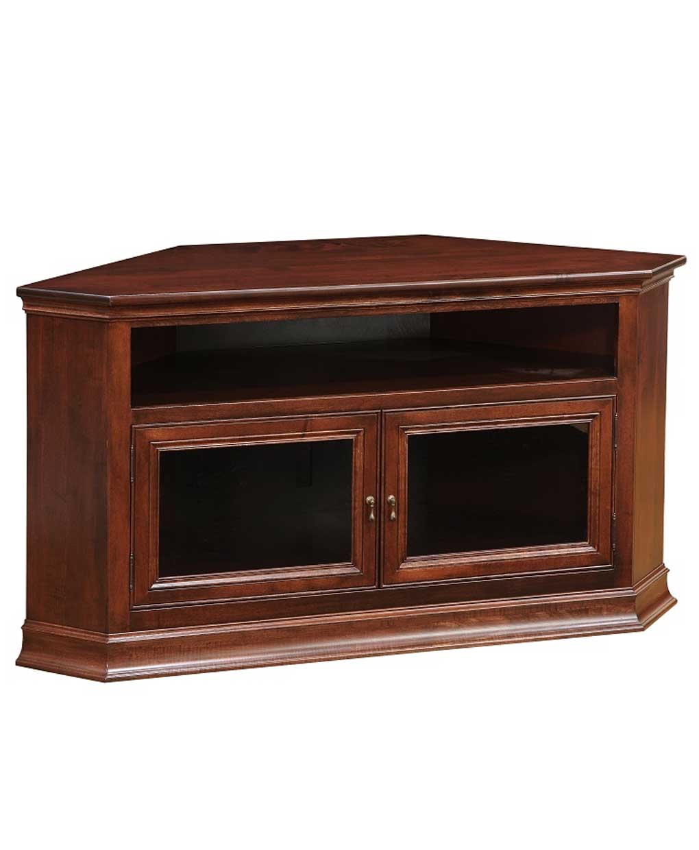 Breckenridge 40 Corner Tv Stand Amish Direct Furniture