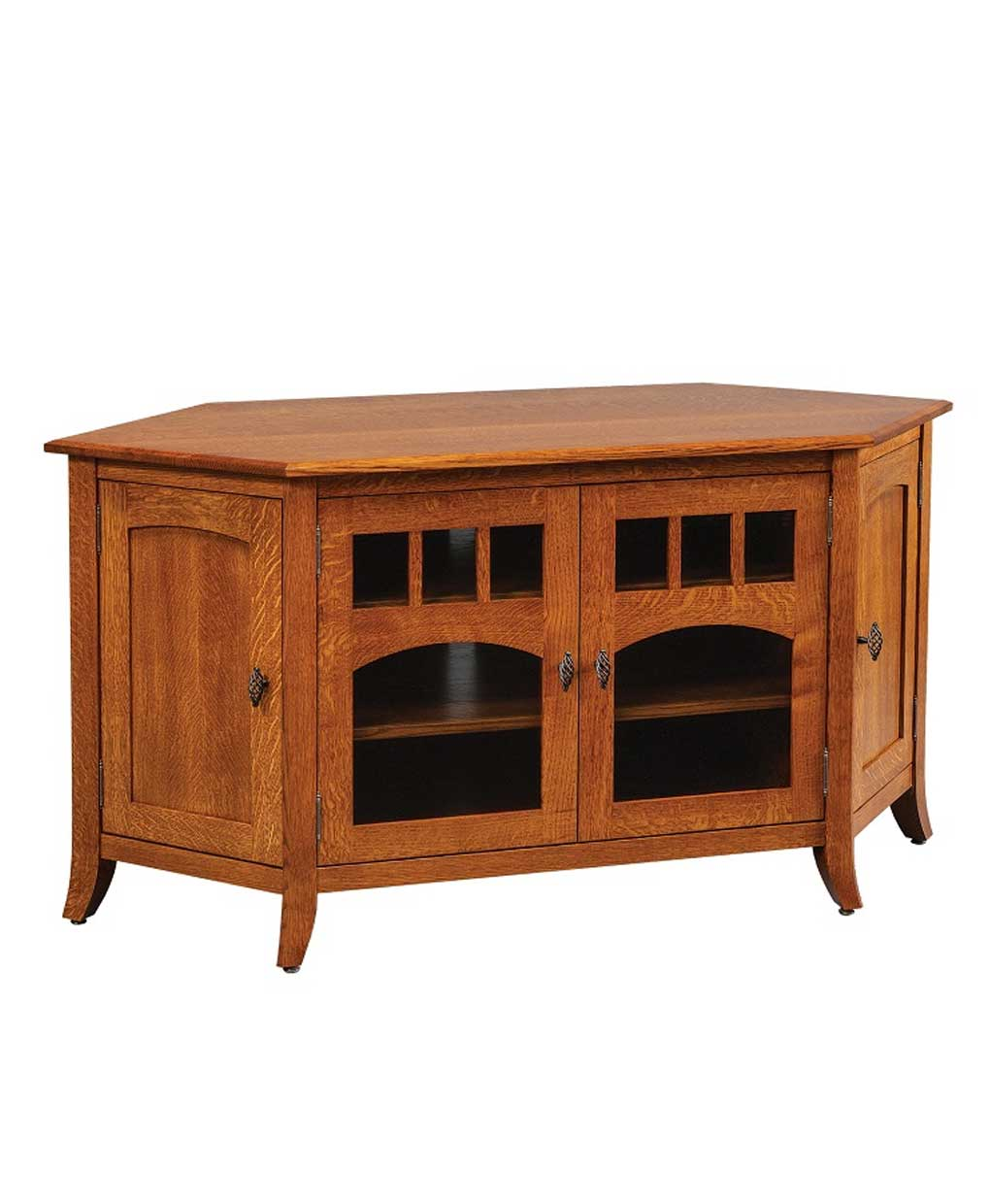Old World Living Room Furniture: Old World Style #43 Corner TV Stand