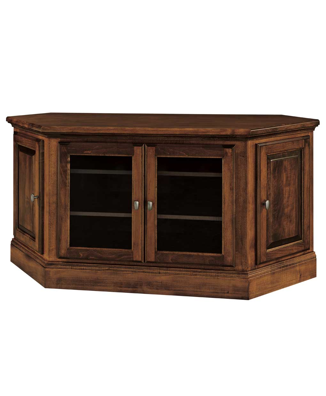 Kincade 4 Door Corner Tv Stand Amish Direct Furniture