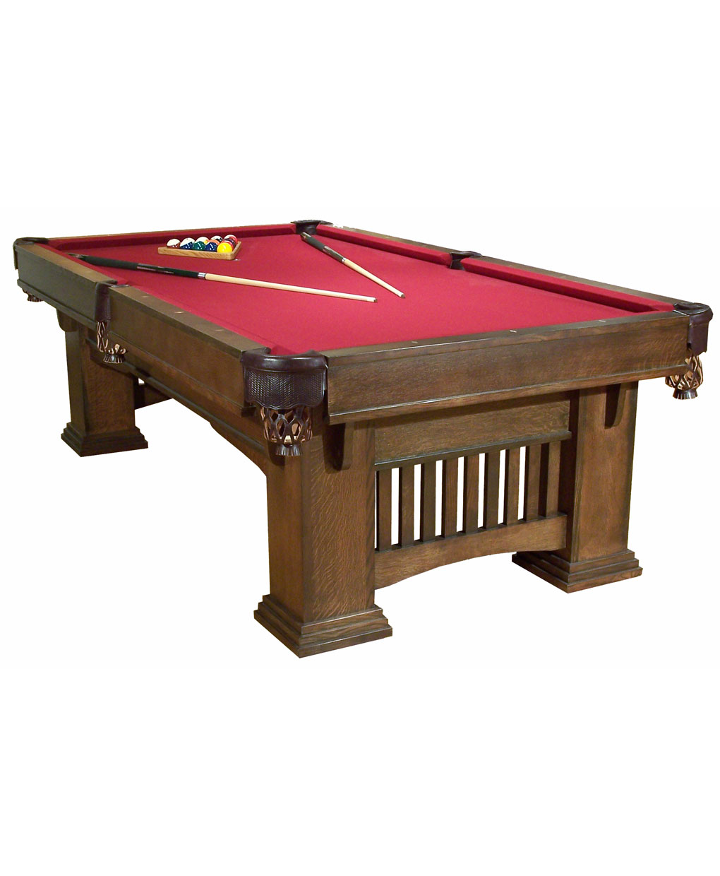 Classic Mission Pool Table Amish Direct Furniture - Classic billiard table