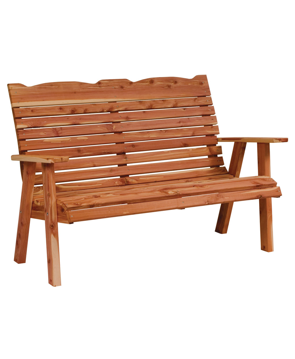 Straightback Loveseat Bench Amish Direct Furniture