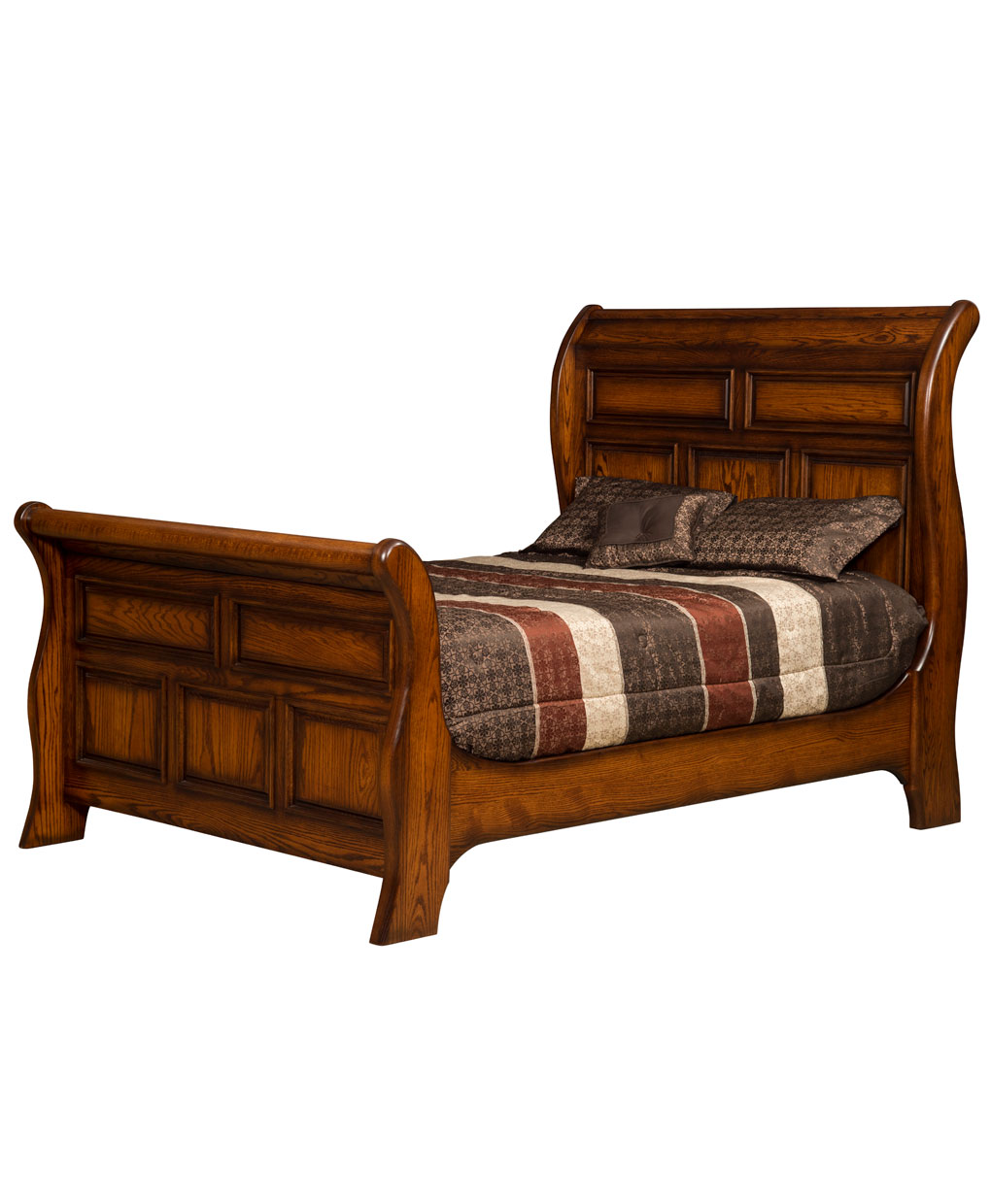 Sunrise Sleigh Bed Amish Direct Furniture