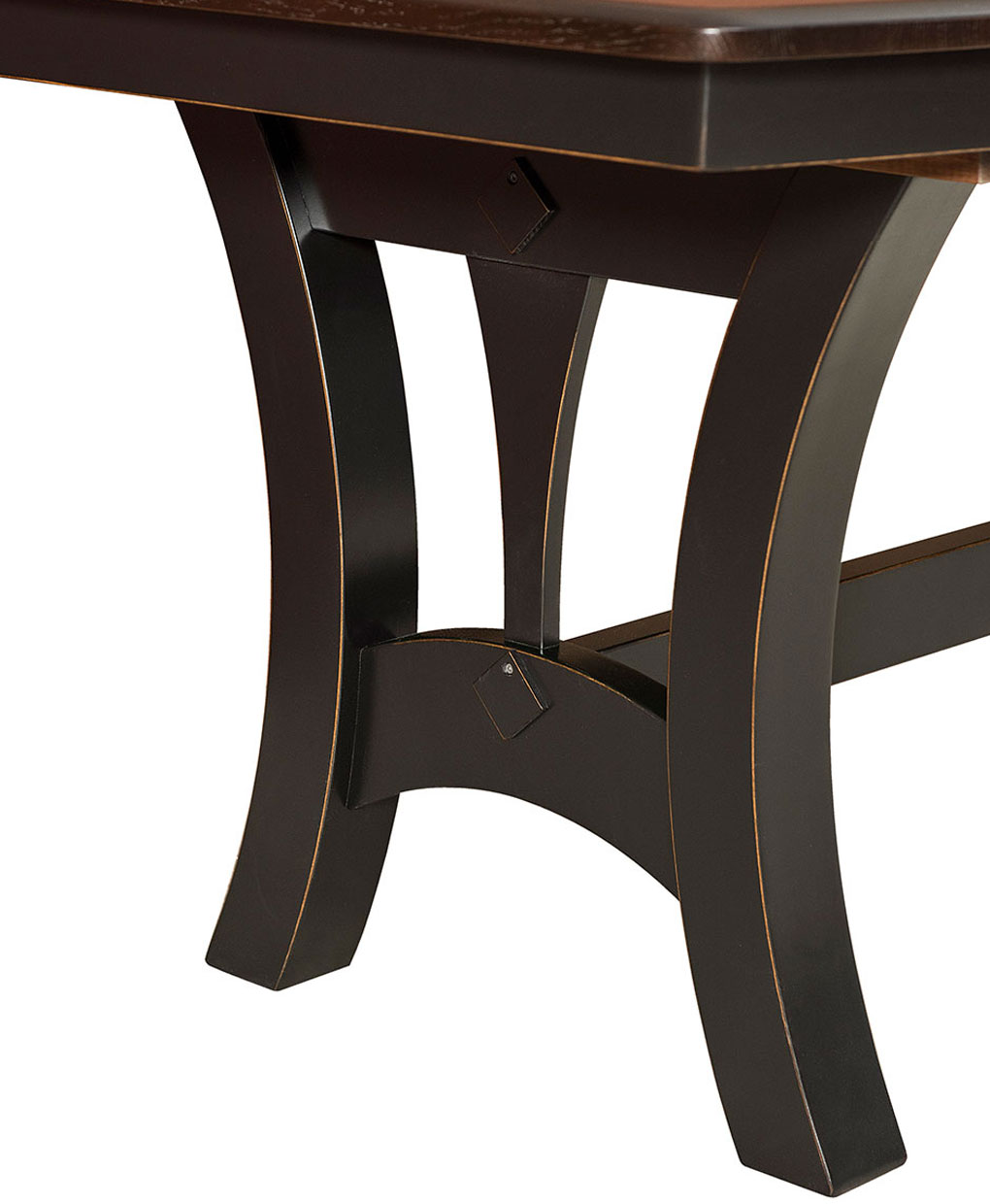 Very Grand Island Trestle Table - Amish Direct Furniture ZE35