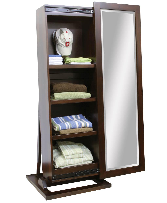 Shaker Hat Storage Leaner Cabinet