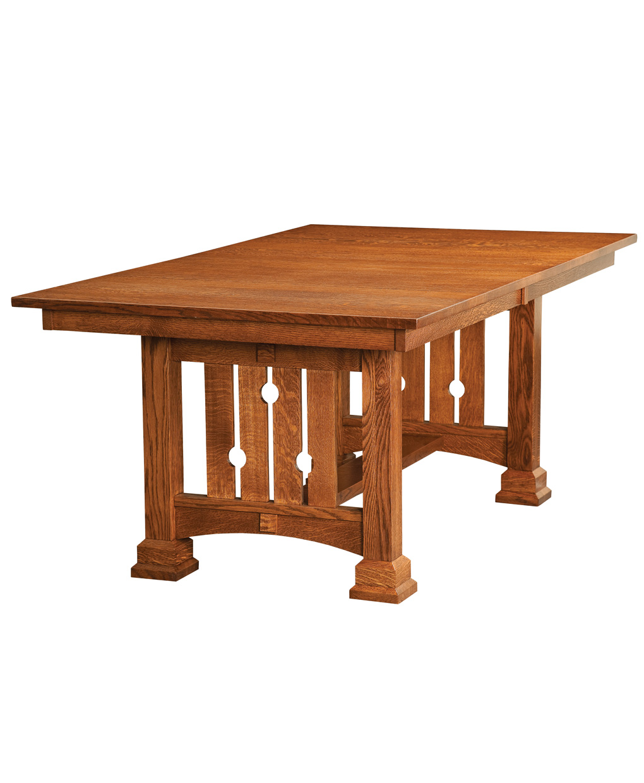 Douglas Trestle Table Amish Direct Furniture