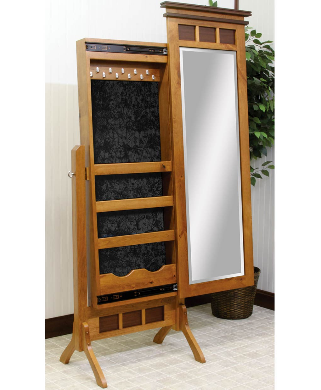 Maple creek jewelry cheval amish direct furniture for Bedroom 80 humidity