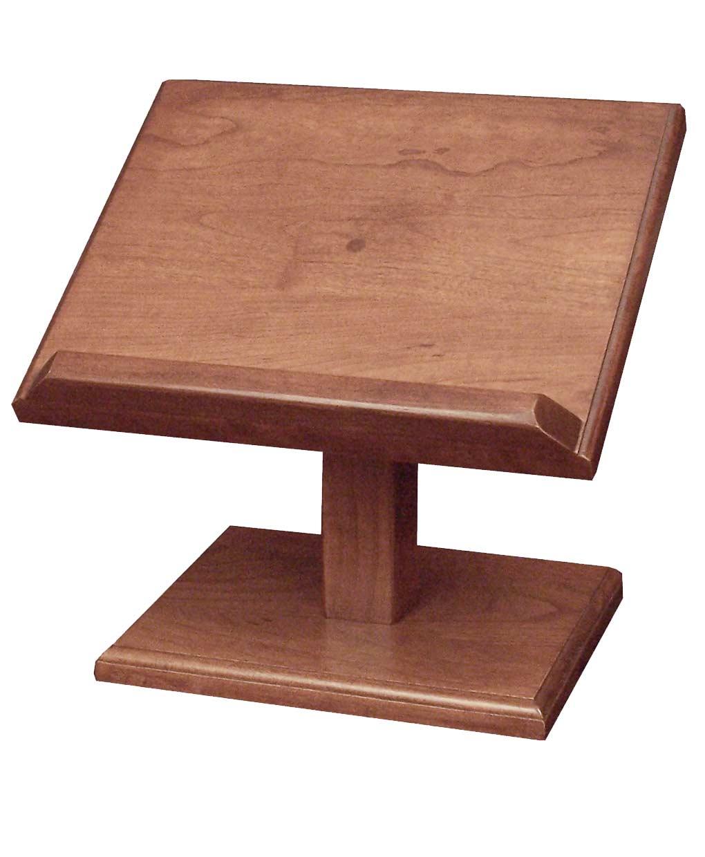 Cherry Cookbook Bible Holder Large Amish Direct Furniture