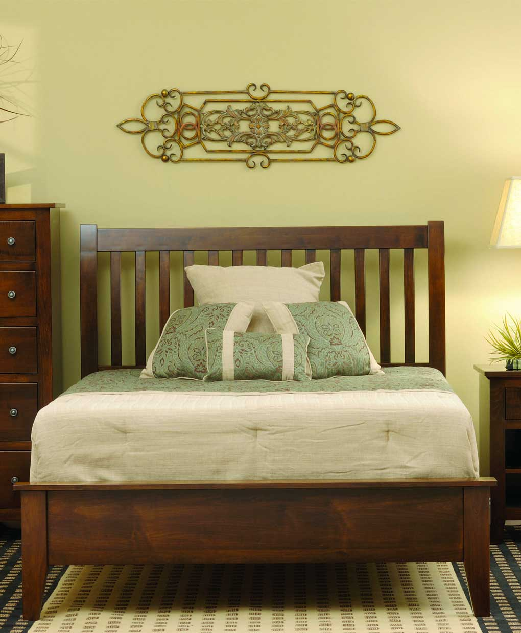 huntington bed amish direct furniture