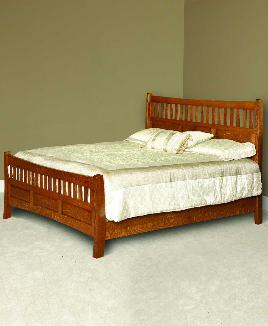 Lane Shaker Bed Amish Direct Furniture