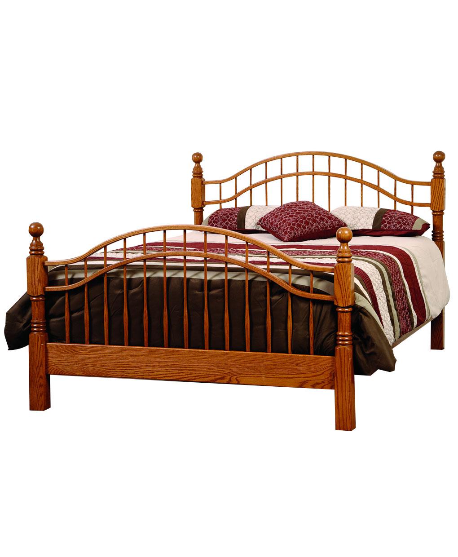 Laurel Victorian Queen Bed