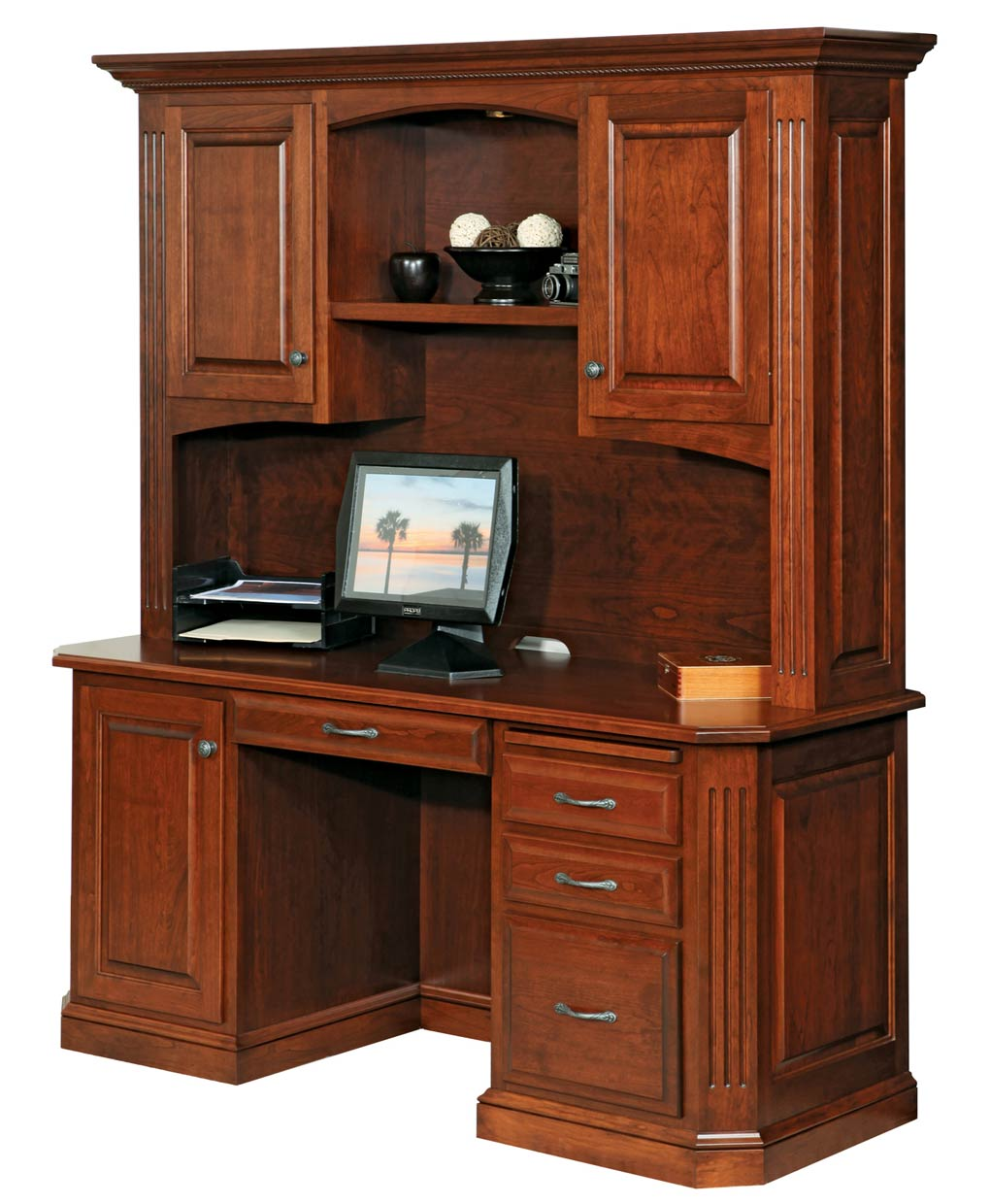 Buckingham Credenza And Hutch Amish Direct Furniture