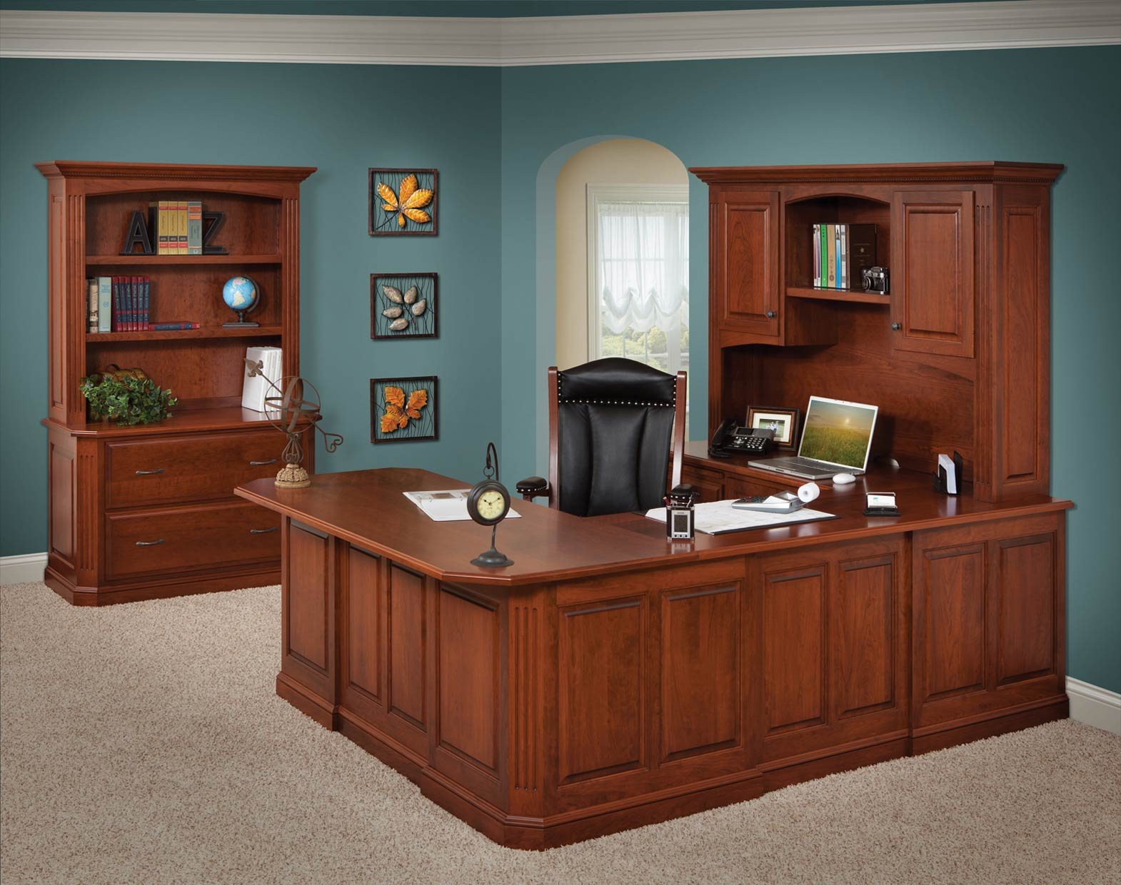 Buckingham Executive Desk Amish Direct Furniture