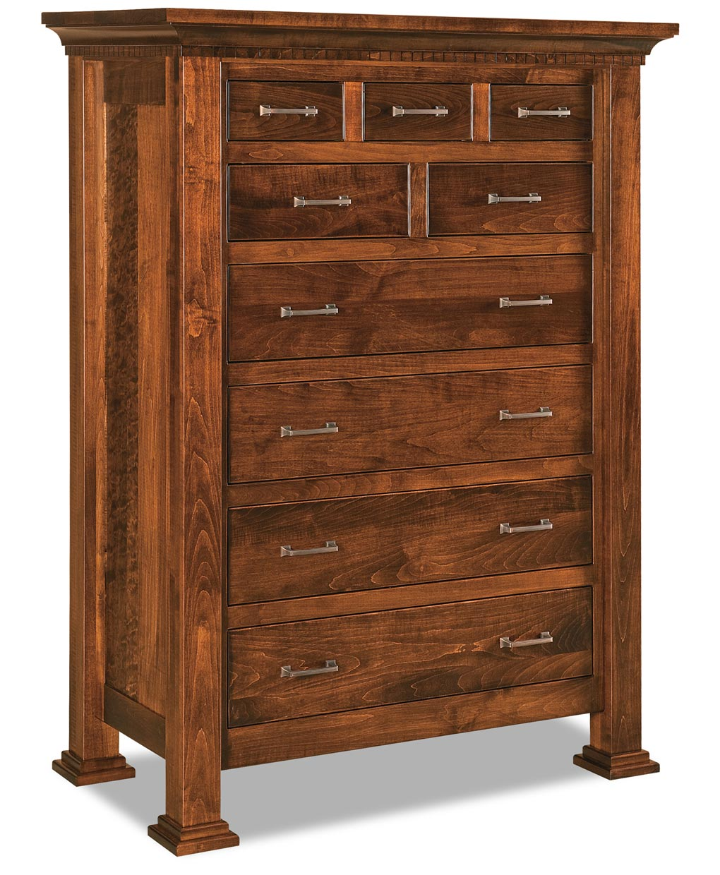 Empire 9 Drawer Chest Amish Direct Furniture