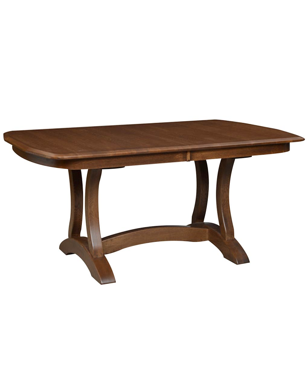 Richfield double pedestal table amish direct furniture for Dining room table 42 x 60