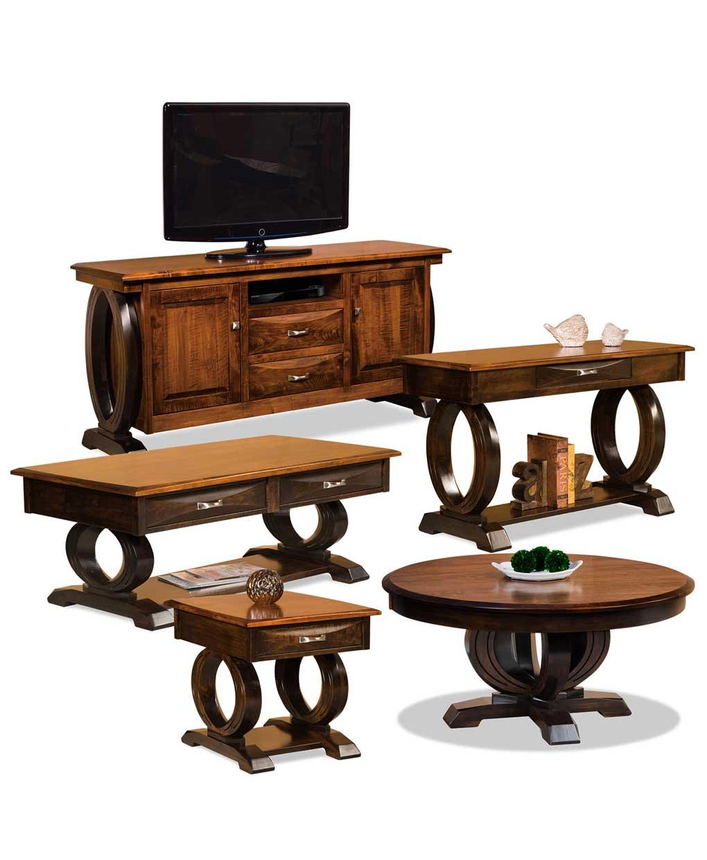 Saratoga Sofa Table Amish Direct Furniture