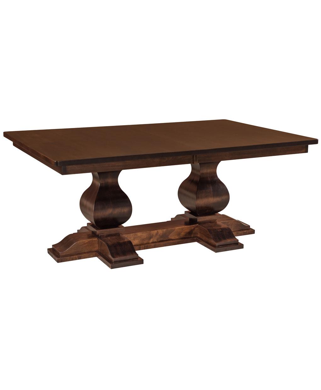 Barrington Double Pedestal Table Amish Direct Furniture