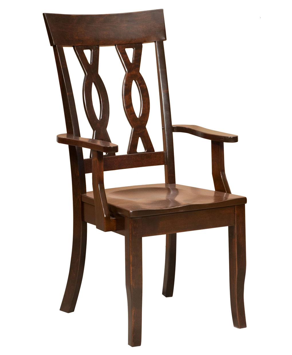 Gallery pictures for good quality dining chairs carson armchair amish - Carson amish dining chair arm