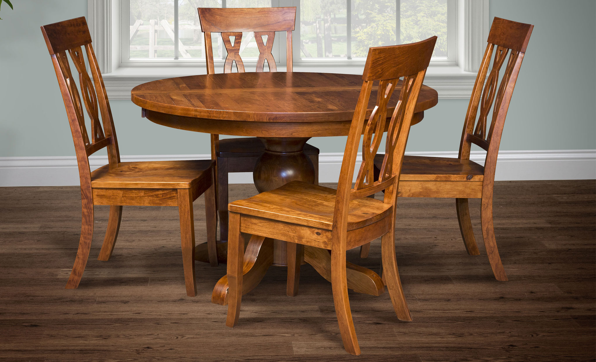 Gallery pictures for good quality dining chairs carson armchair amish - Carson Dining Room Set