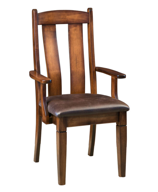 Mansfield Amish Dining Chair [Arm]