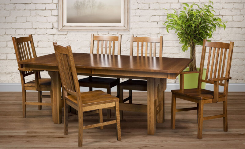 Artisan Mission Amish Dining Chair [Set]