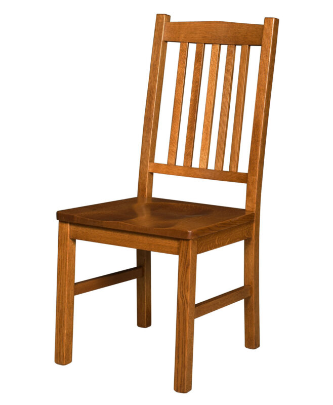 Artisan Mission Amish Dining Chair [Side]