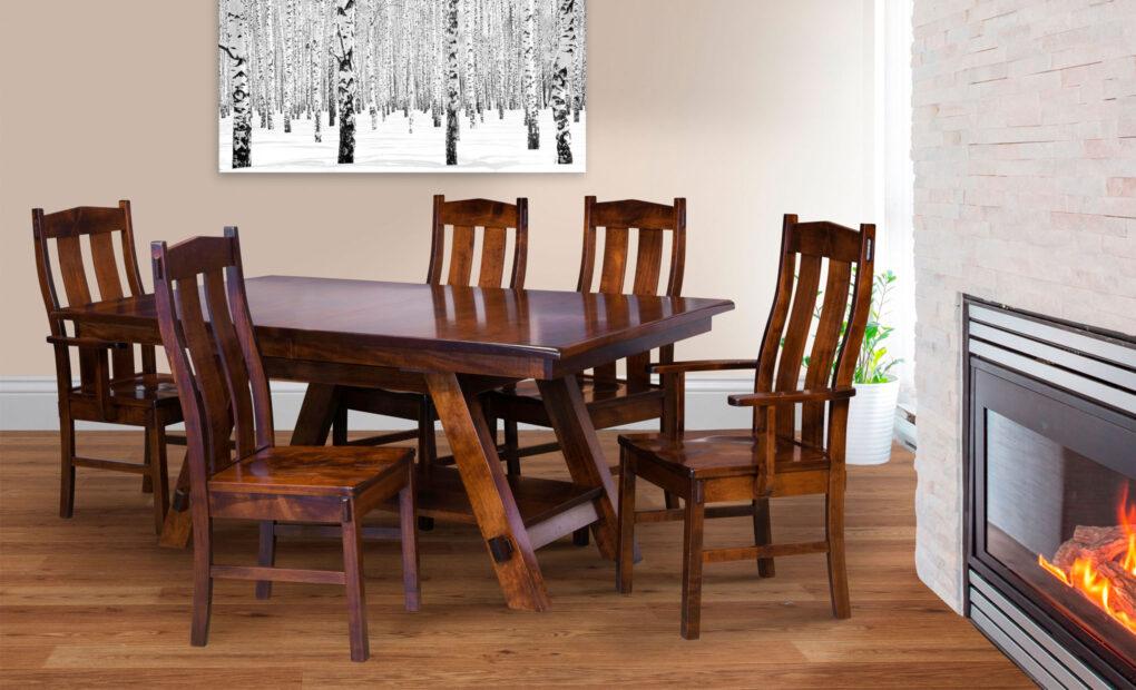 Timber Ridge Amish Dining Chair [Set]