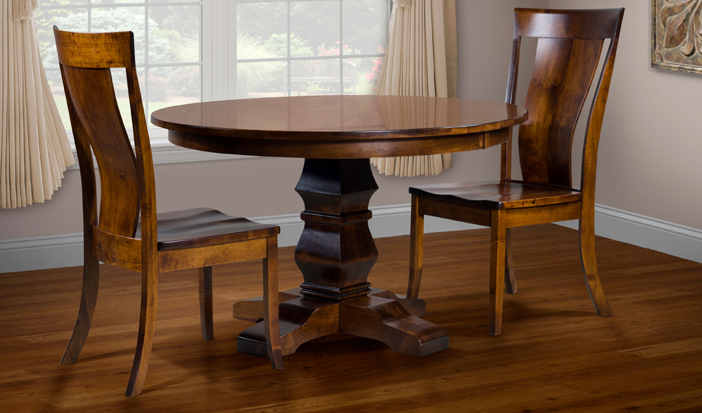 Albany Chairs And Bradbury Table Amish Direct Furniture