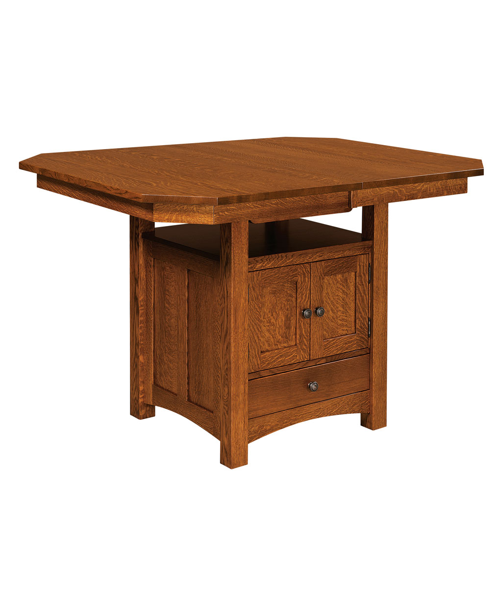 Bassett Cabinet Table Amish Direct Furniture