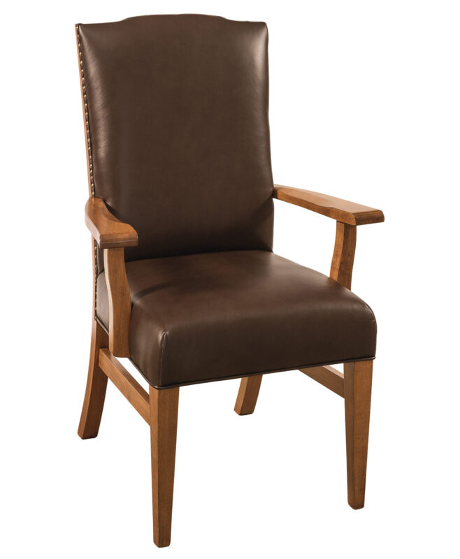 Bow River Amish Dining Chair [Arm]