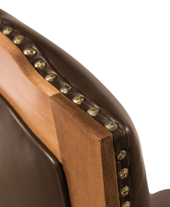 Bow River Amish Dining Chair [Tack Detail]