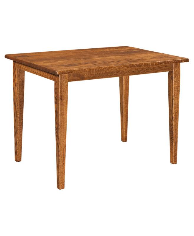 Dayton Amish Leg Table